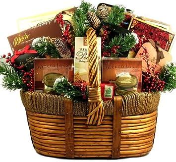 Christmas Gift Baskets For Men.Amazon Com The Premium Collection Stunning Christmas Gift