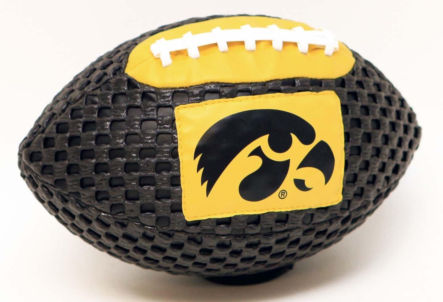 Iowa Hawkeyes Fun Gripper 8.5 Football NCAA By: Saturnian I