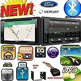 1995-2011 FORD MERCURY MAZDA Double Din DVD CD GPS Navigation Bluetooth Radio Stereo