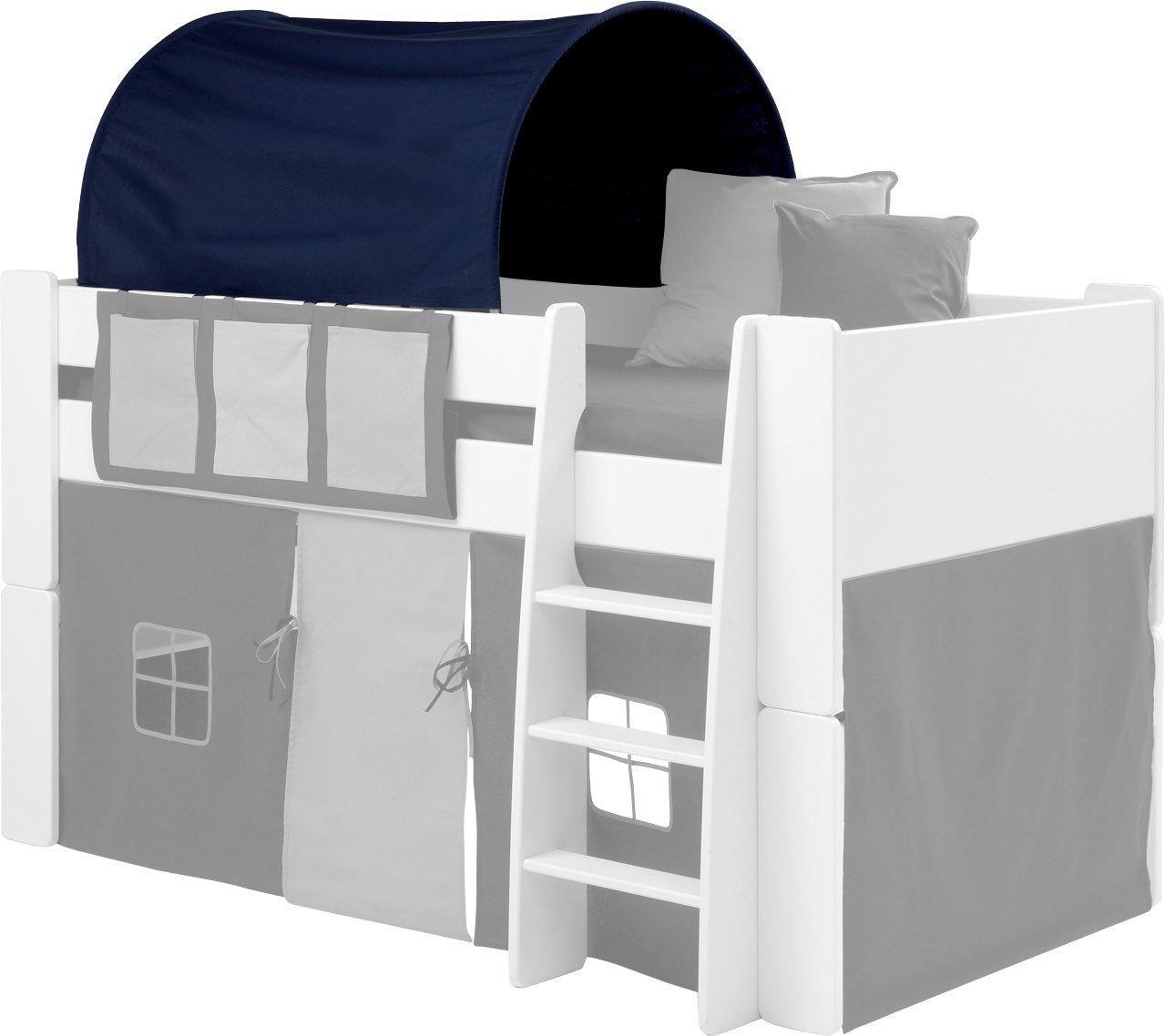 Steens Group 2909640974000 Tunnel SFK pour Lit Mi-Hauteur Bleu 150 x 91 -5 x 69 cm