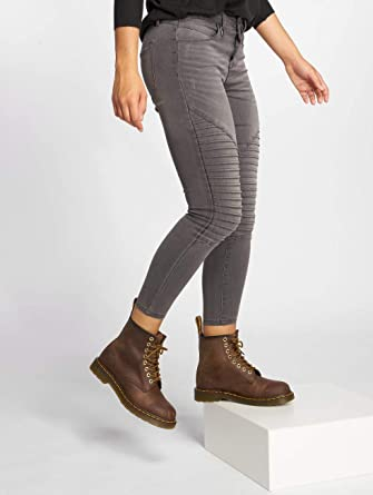 ec14756ed59d ONLY Damen Jeans Hose Leggings onlROYAL REG SK Biker ANK DNM BJ312B Jeggings  Ankle grau (