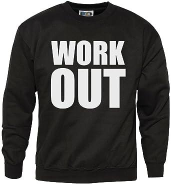 trainieren - Komisch Gym Slogan Hipster Mode Sweatshirt - - Herren Schwarz,  X-Klein 31ebc24a5d