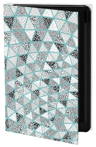 Keka Holly Sinkule Designer Case for Kindle Fire - Stained Glass Triangle