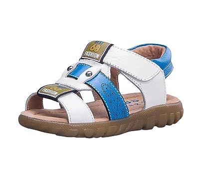 058c7ac1ccee4 Sandales Bout Ouvert Garçon - Doux Chaussure de Plage pour Enfant Bébé