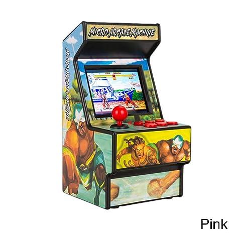 Rikey Mini Juego de Arcade de Mano TFT de 2.5 Máquinas Retro para niños con