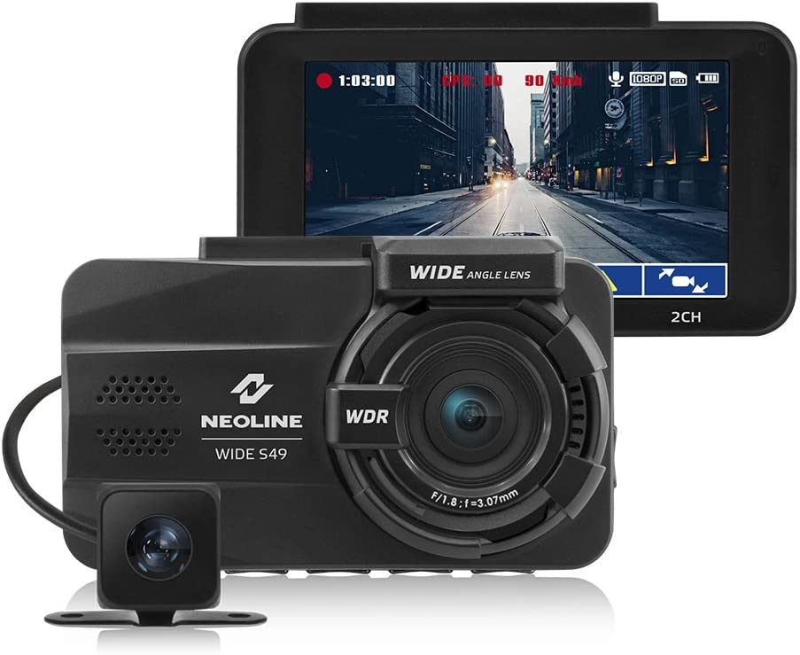 Neoline Wide S49 Robuste Dual Channel Dashcam Auto