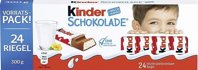Kinder Chocolate T.24: Amazon.es: Alimentación y bebidas