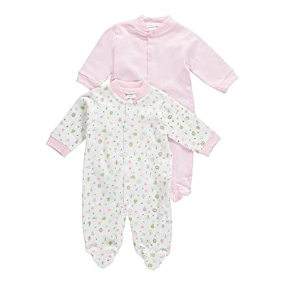 Big Oshi Baby Girls Nature Medley 2-Pack Sleep Suits 7c07bf2d6