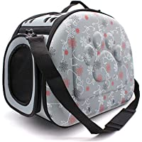Soft-Sided Pet Travel Carrier Bag - Portable Foldable EVA Pet Outdoor Carrier Airline Approved Medium Cat Dog Puppy Travel Bag