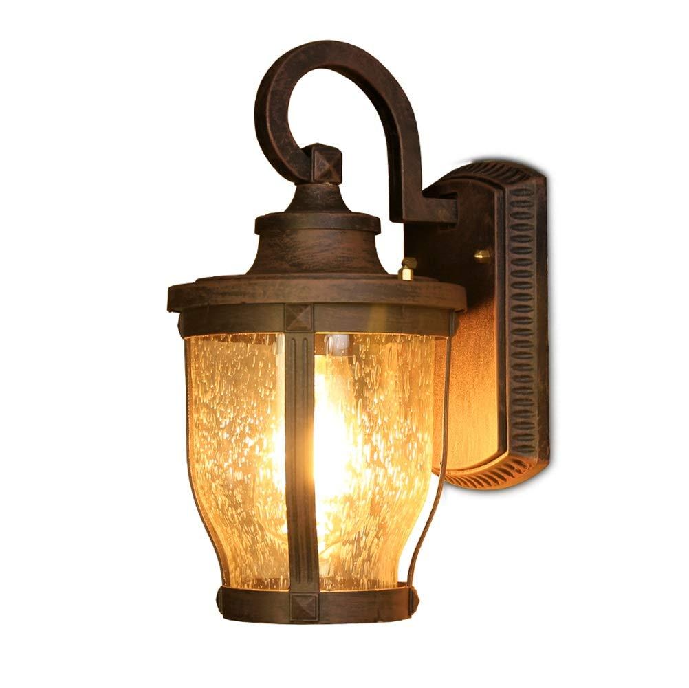 vanno a ruba Lampada da parete per per per esterni Lampada da parete impermeabile retrò europea Lampada da balcone con luce per esterni da giardino  merce di alta qualità e servizio conveniente e onesto