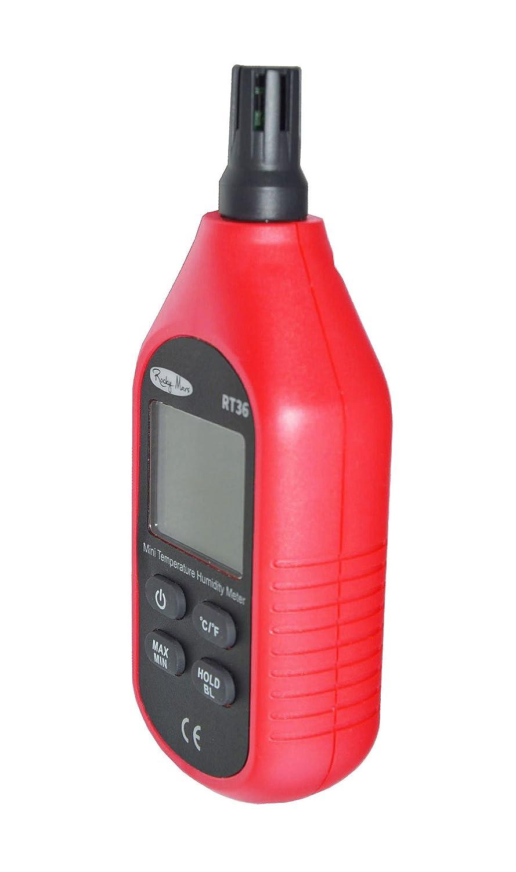 RockyMars RT36 Temperature and Humidity Meter Humidity Monitor Humidity Gauge Hygrometer Rocky Mars CECOMINOD032250