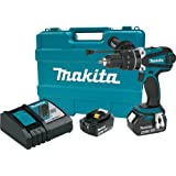 "Makita XPH03MB 18V LXT Hammer Drill Kit, 1/2"""