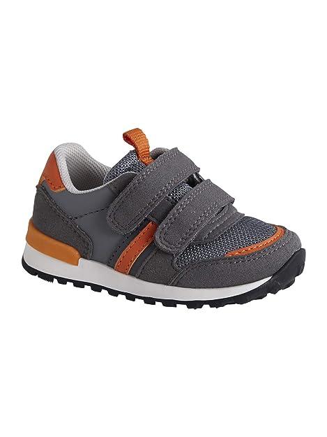 VERTBAUDET Zapatillas Deportivas Estilo Running con Tiras autoadherentes bebé niño: Amazon.es: Zapatos y complementos