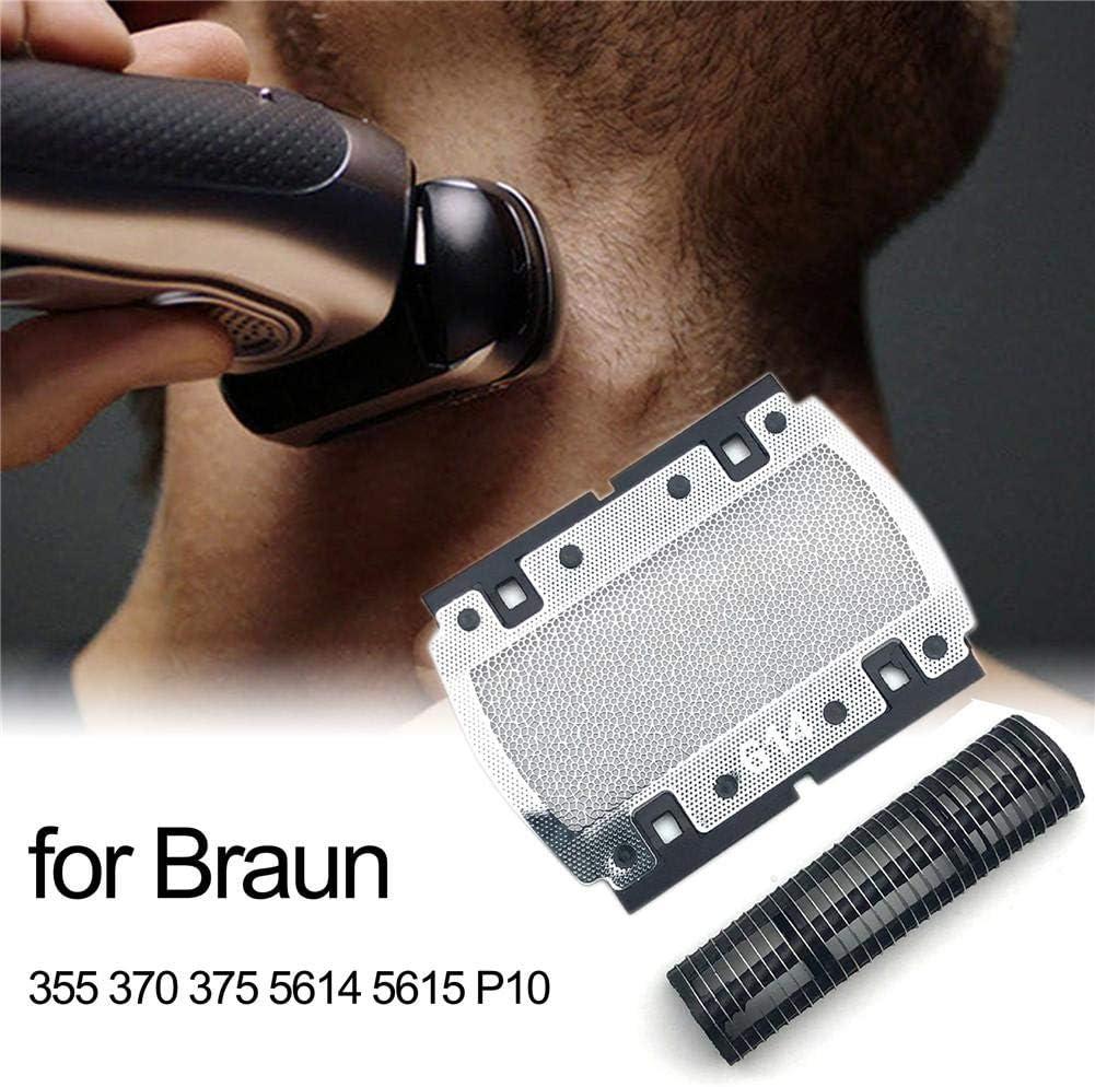 chivalrylist Pantalla de lámina de Repuesto para Braun 355 370 375 5614 5615 P10: Amazon.es: Hogar