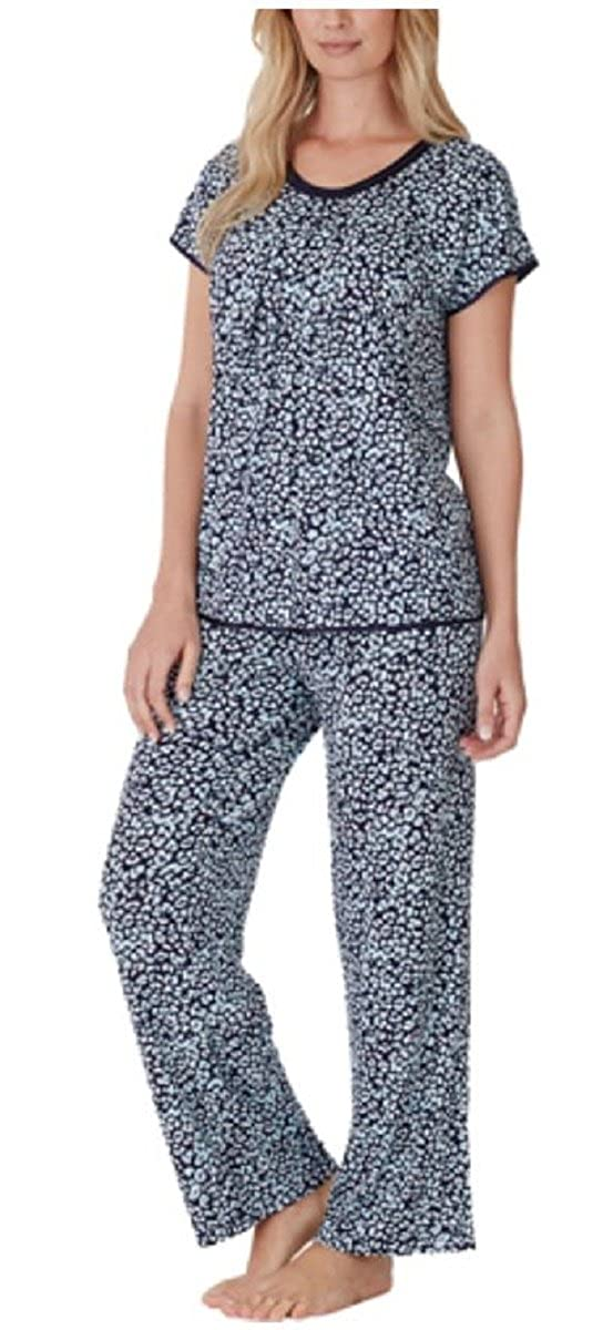 Carole Hochman Women s Midnight Super Soft Modal Pajama Set (Small ... 944a1ce1b