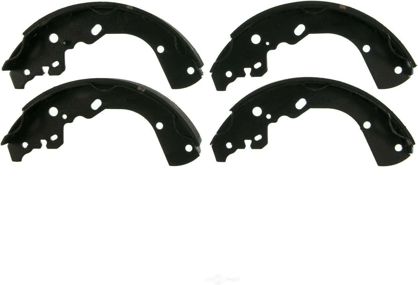 AutoDN REAR Drum Brake Shoe Set Compatible With CHEVROLET SILVERADO 1500 2005 2006 2007 2008