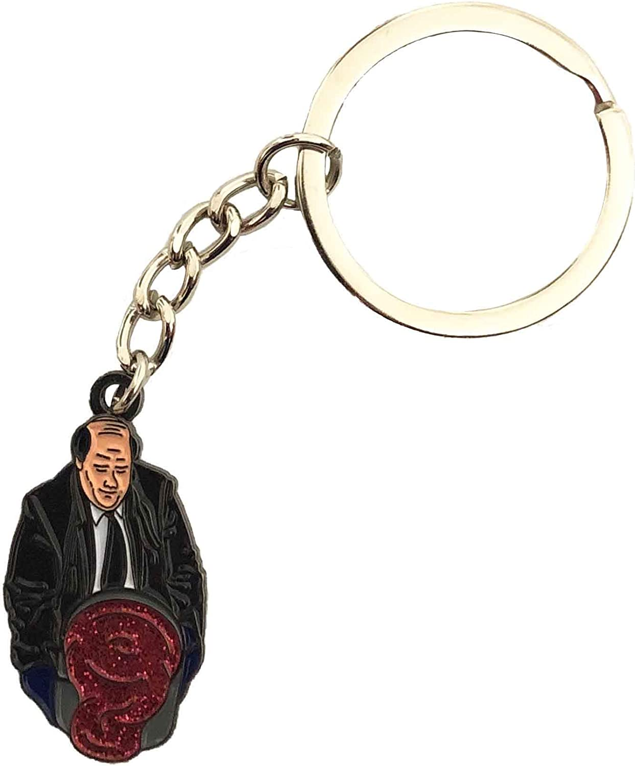 Balanced Co. Kevin's Famous Chili Keychain Kevin Malone Keychain Michael Scott Key Chain