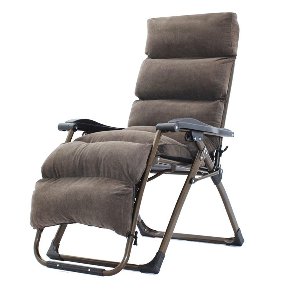 ZR- 折りたたみ椅子怠惰なソファのオフィスナップの椅子レジャービーチチェアハッピーチェアホームレイジーソファ(さまざまな色のオプション) (色 : #12) B07DJQY2BG #12 #12