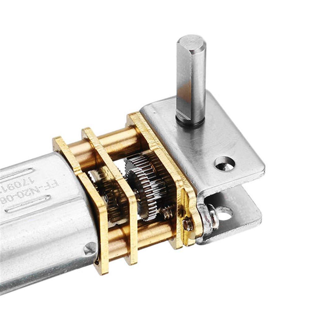 4 U//min Pannow GW12GA-4 Schneckengetriebe DC 6 V
