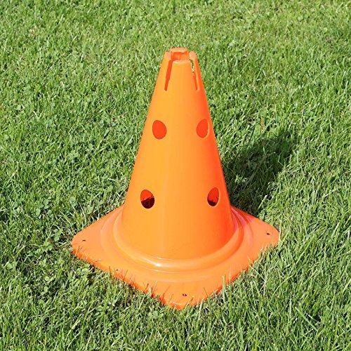 Kombi-Kegel 30 für Teamsportbedarf Fußballtraining (orange)