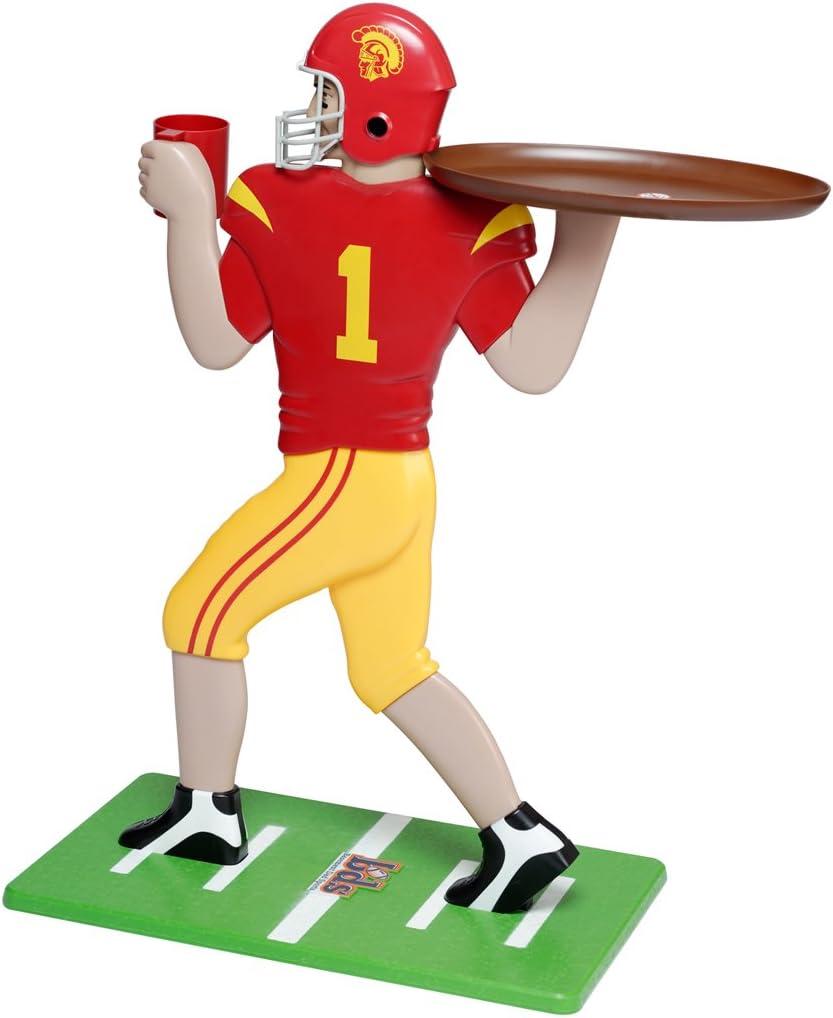 36-Inch//Tall Red Basic Fun NCAA USC Trojans My Wingman Accent Table