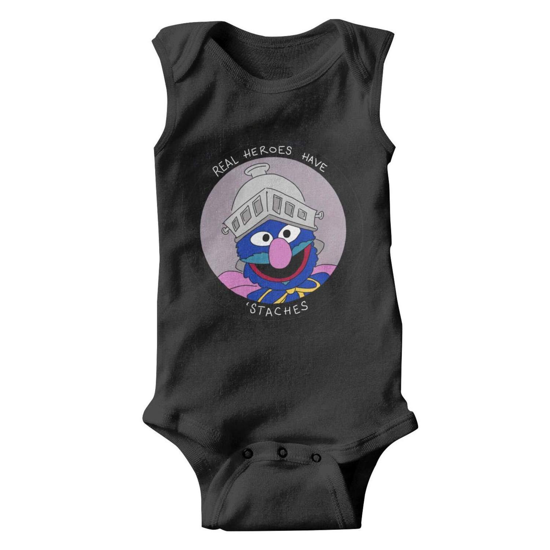 Amazon Com Baby Boys Infant Sleeveless Sesame Street Oscar