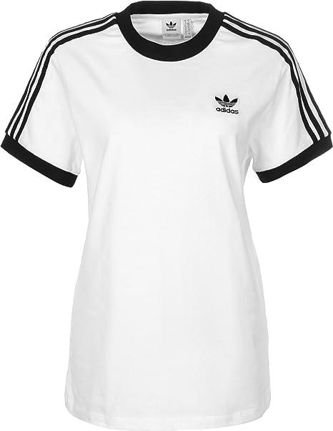 Adidas 3 Stripes tee Camiseta, Mujer