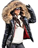 Aofur Womens Ladies Quilted Wi...