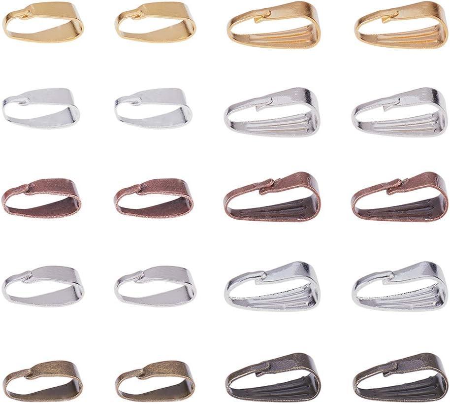 10PCS Lot Making DIY Gold Jewelry Findings Pinch Bail Hook Earring Ear Wires
