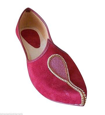 Indian Men Shoes Groom Mojari Handmade Khussa Designer Jooti Flip-Flops