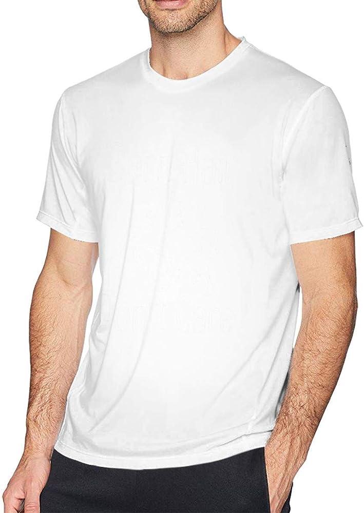Camiseta sin Mangas con Cuello Redondo para Hombre de Barn Hair Dont Care, Camisa Casual para Hombres,S: Amazon.es: Ropa y accesorios