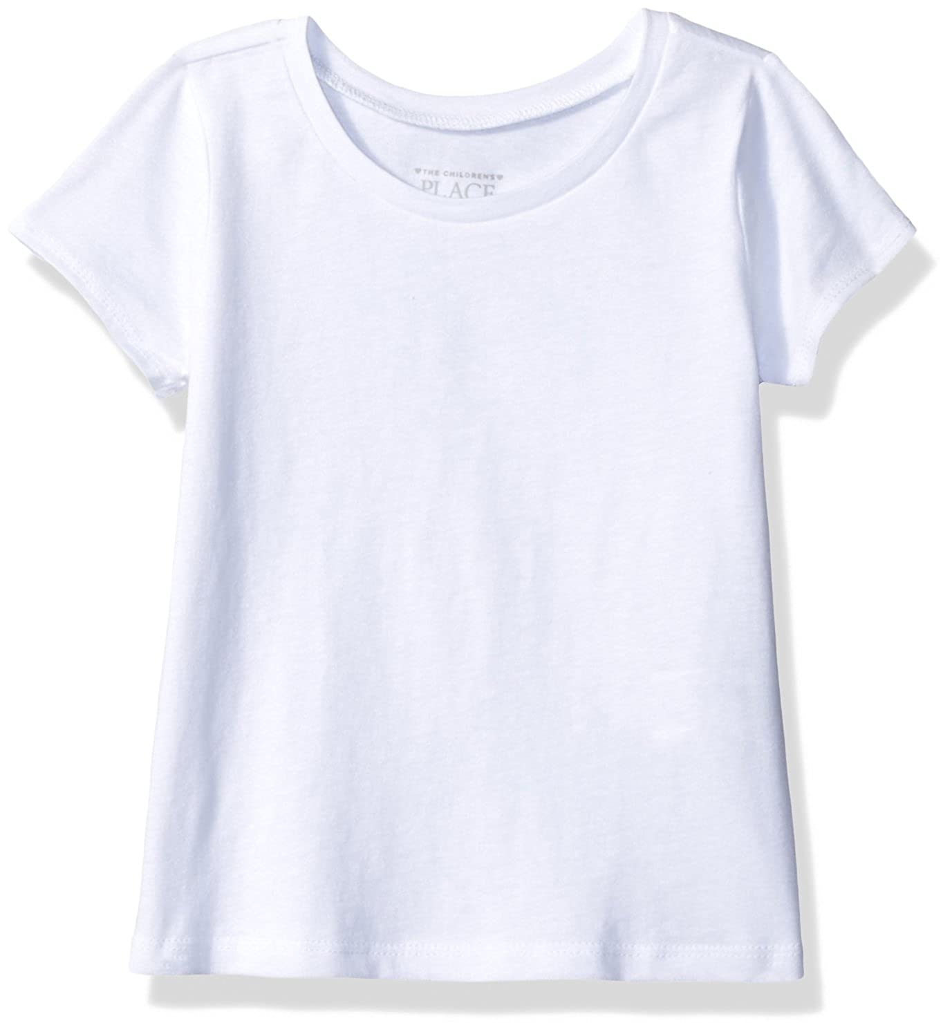The Children's Place Girls' Basic Short Sleeve Layering Tee The Children' s Place