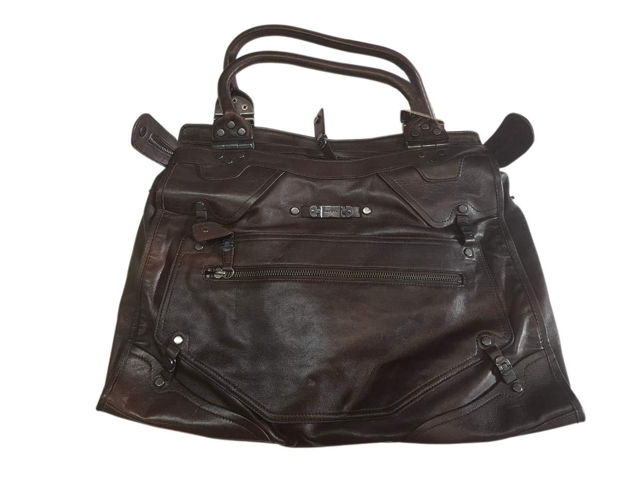 Diesel Handbag 00XA98PR441T2154 Bagage Cabine, 30 cm, 6 liters, Noir (Schwarz)