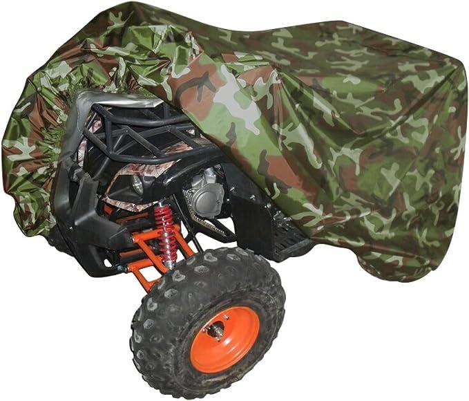 Neverland Xxxl Quad Atv Abdeckplane Fahrzeug Abdeckung Schutz Cover 190t 256 110 120cm Winterfest Staub Regen Uv Schutz Camouflage Auto