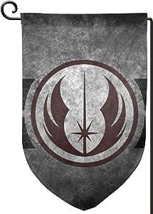 YN999 Jedi Order Double Sided Garden Flag 12.5 X 18 Inch Outside Decorative Banner