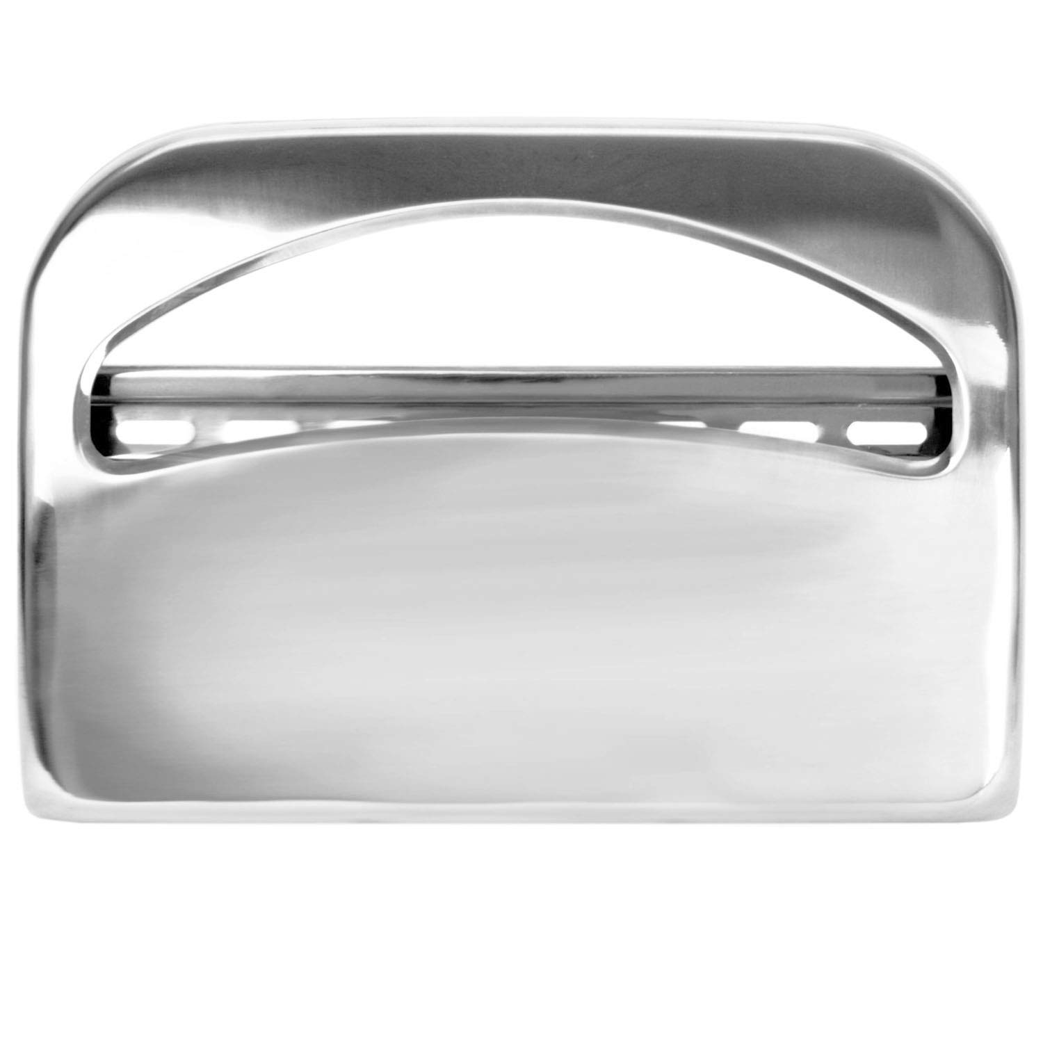 Tiger Chef Silver Toilet Seat Cover Dispenser with 1000 Free Toilet Seat Covers - Starter Pack (Chrome)