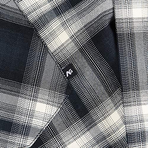 Snowboard Truitt Lahombre Maglietta True Flanel maniche lunghe a analogica Black xqqUXpI