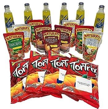 Combito Mi Pulpe Guatemala / Variety Combo Mix Snack (Tiky Soft Drink - Tortrix -