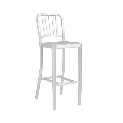 Amazon.com: Euro Estilo Cafe Side Chair (Conjunto de 2) en ...