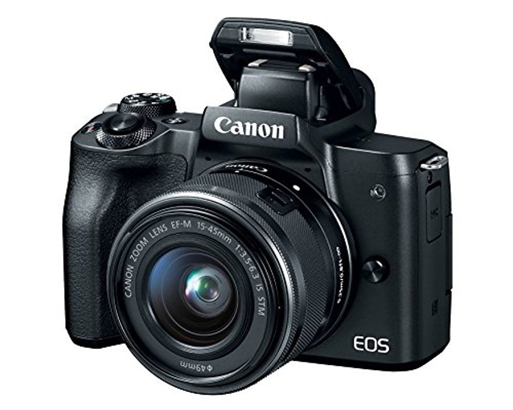 Canon EOS M50 Mirrorless Camera w/15-45mm (Black) + 2 x 32GB + Deluxe Photo Bundle by Canon (Image #5)