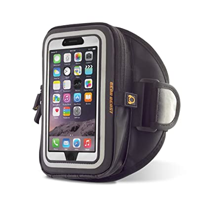 best service ec009 b97bf Gear Beast GearWallet Galaxy S8 Sports Armband for Running, Compatible  w/Otterbox Type Cases, Large Capacity Storage Pocket, 4 Card Slots, Cash,  Keys, ...