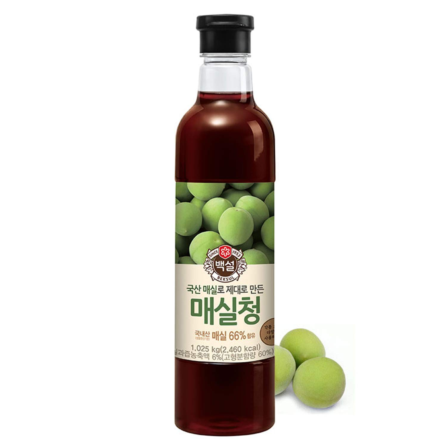 Amazon Com Korean Beksul All Purpose Plum Extract Syrup 매실청 2 2lb Grocery Gourmet Food