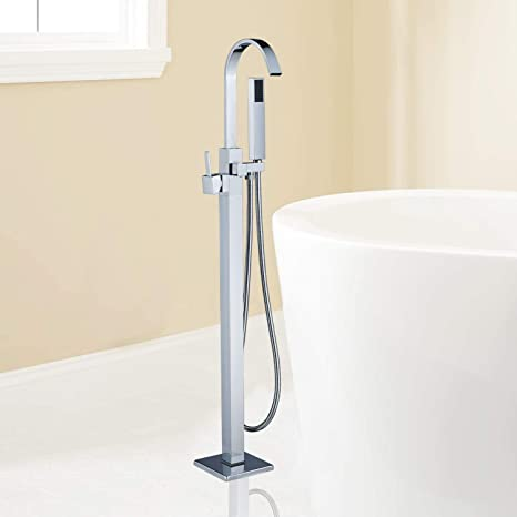 Rozin - Grifo de ducha para bañera o ducha, color cromado: Amazon ...