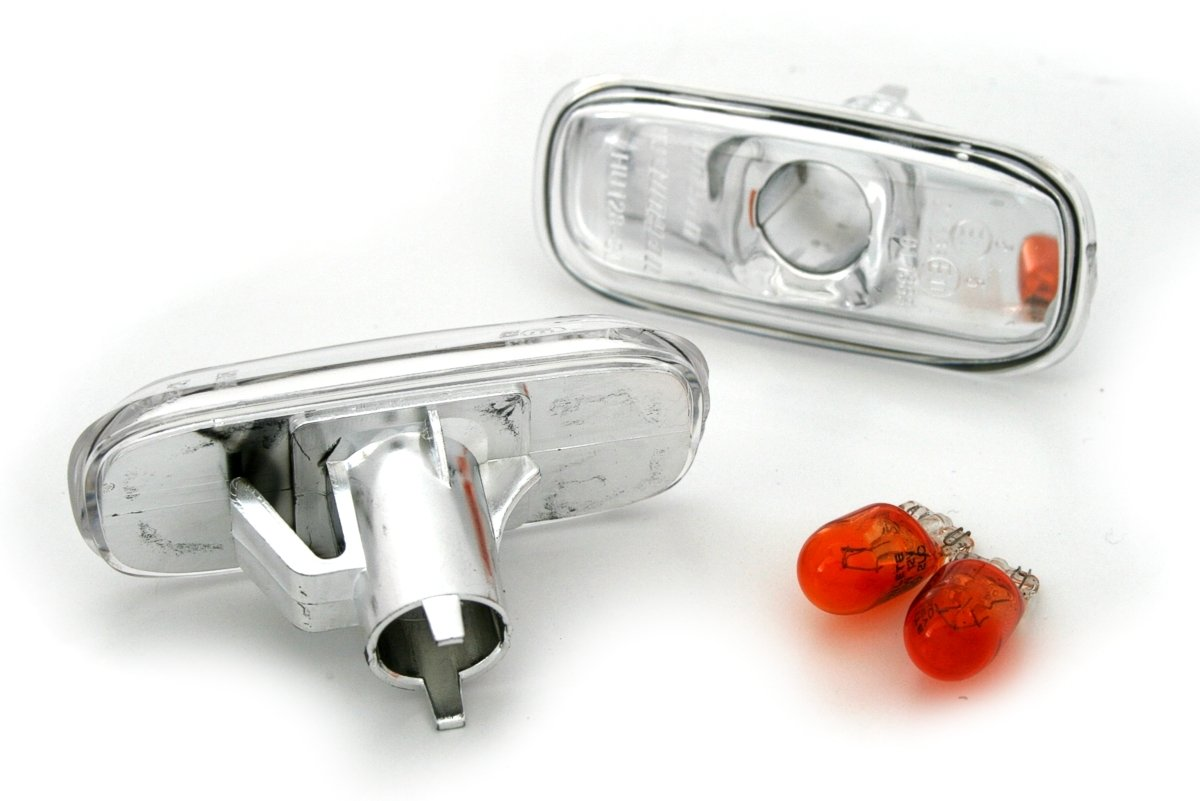 KG Seitenblinker Set in Klarglas Chrom AD Tuning GmbH /& Co