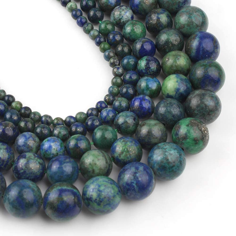 Lapis lazuli,15 inch strand of Lapis lazuli  faceted nugget beads,Chrysocolla stone,centre drilled beads 10-12x16mm