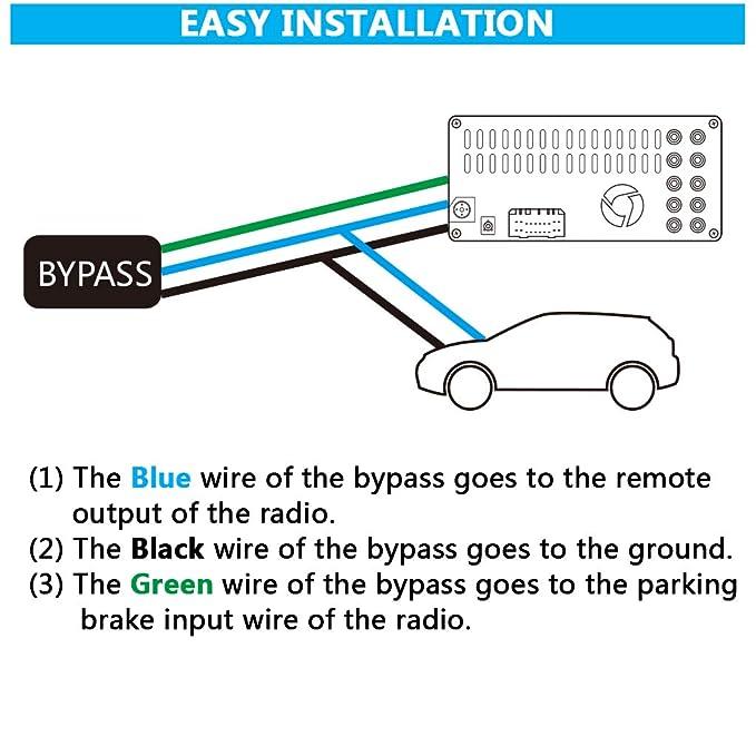 Amazon Com Parking Break Bypass Module Video In Motion Interface