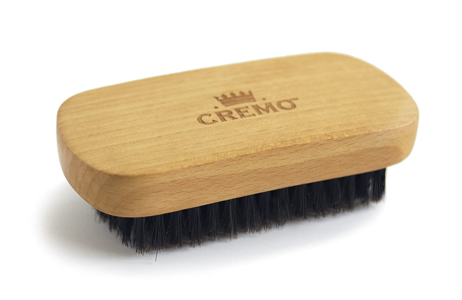 Cremo 100 Boar Bristle Beard Brush With Wood Handle To Shape Style And Groom Any Length Facial Hair