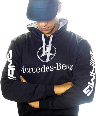 Sudadera Mercedes-Benz AMG, Color Negro, Fabricado y enviado Desde ...