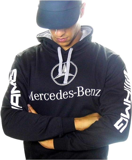 Sudadera Mercedes-Benz AMG, Color Negro, Fabricado y enviado Desde España (s): Amazon.es: Ropa y accesorios