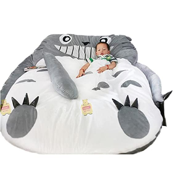 Amazon My Neighbor Totoro Sleeping Bag Sofa Bed Twin Double Mattress For Kids Home Kitchen